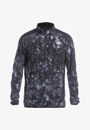 AKER  - Fleece jumper - true black woolflakes