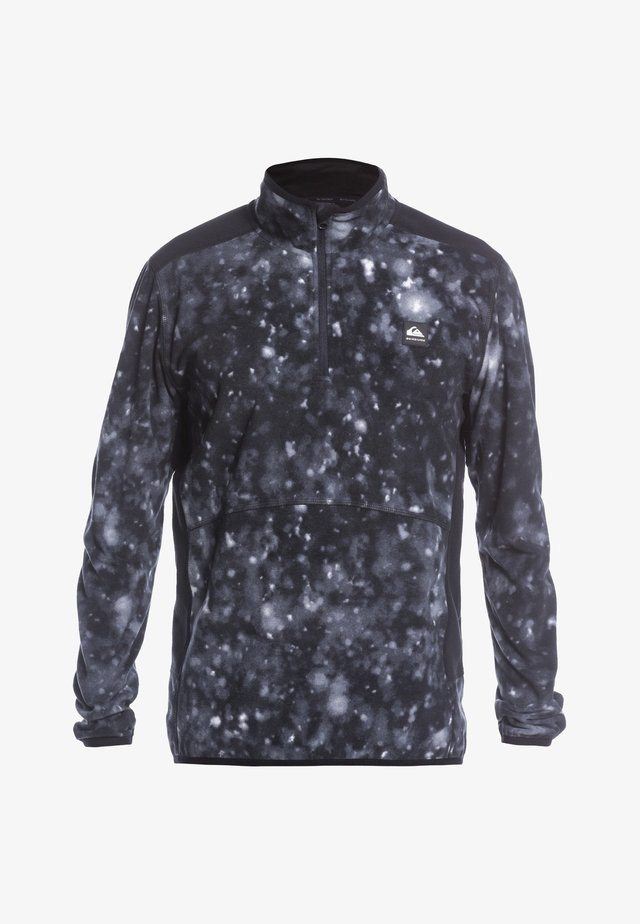AKER  - Sweat polaire - true black woolflakes
