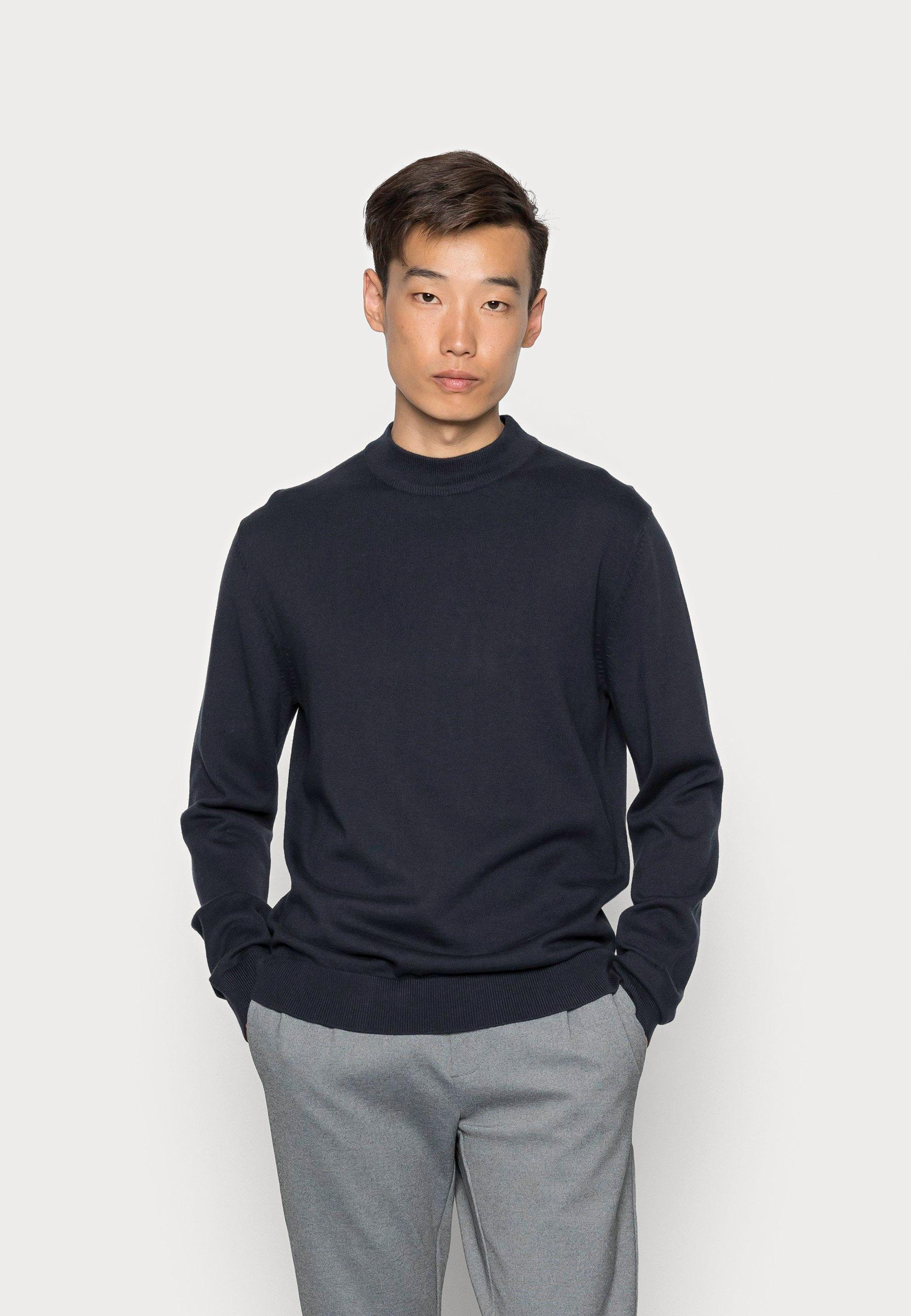 Homme SLHBRADY MOCK NECK - Pullover