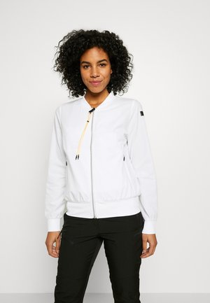 EDINA - Training jacket - optic white