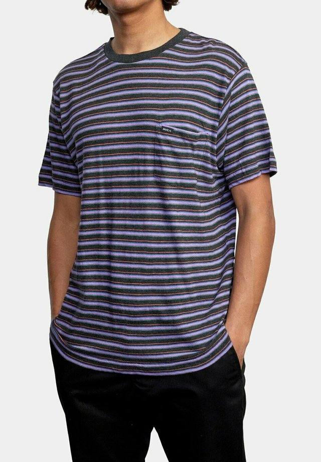 TOLUCA MICRO  - T-shirt med print - blue