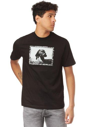 SPHINX - Print T-shirt - black