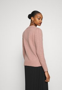 Cream - MADLIN - Jumper -  rose - 2