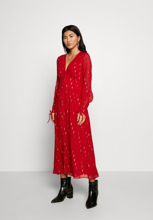 DRESS - Day dress - ruby foil