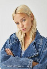 PULL&BEAR - Denim jacket - blue denim - 4