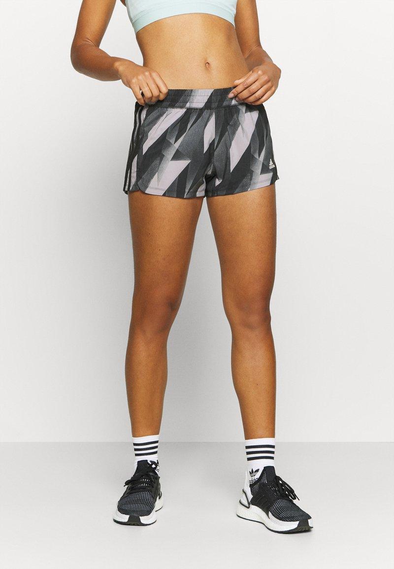 adidas Performance - PACER - Sports shorts - black