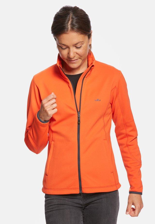 JADA - Soft shell jacket - orange