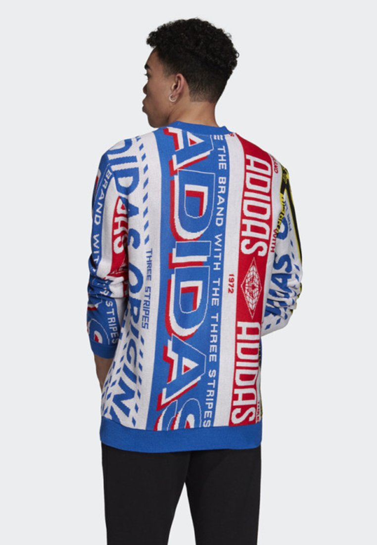 adidas Originals KNIT SCARF CREWNECK SWEATSHIRT Sweatshirt