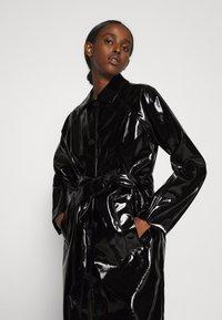 Bruuns Bazaar - JOSETTE GABY COAT - Halflange jas - black - 3