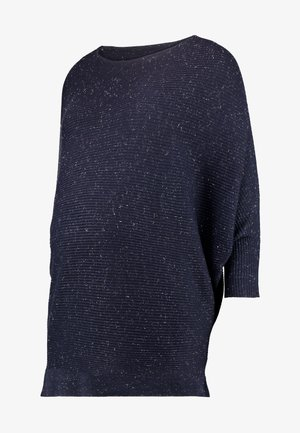 BATWING JUMPER - Sweter - navy