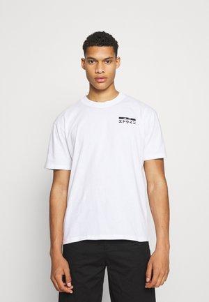 HANADOBORO UNISEX - T-shirt imprimé - white