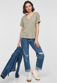 s.Oliver - Basic T-shirt - summer khaki - 1