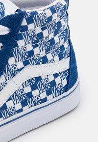 Vans - SK8 UNISEX - High-top trainers - true blue/true white - 5