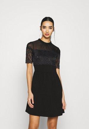 ONLNIELLA MIX DRESS - Day dress - black