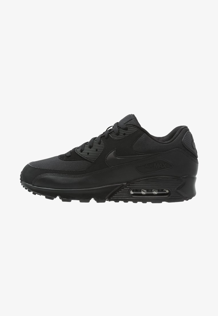 artillería Sophie cafetería  Nike Sportswear AIR MAX 90 ESSENTIAL - Trainers - black - Zalando.co.uk