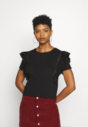 JDYDAISY LIFE  - T-shirts med print - black