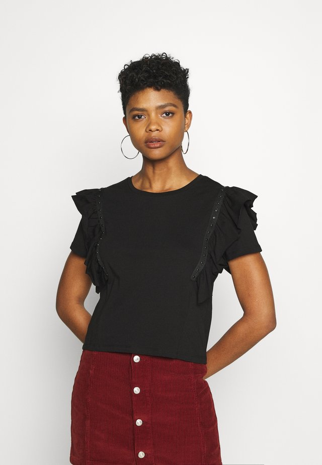 JDYDAISY LIFE  - T-shirt con stampa - black