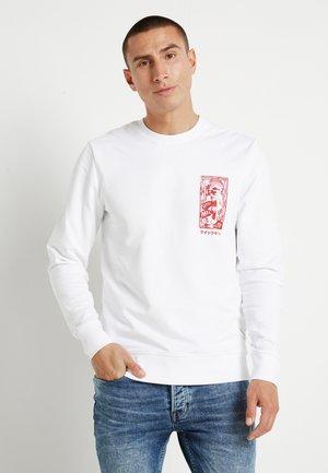 ONSJANNICK - Sweatshirt - white