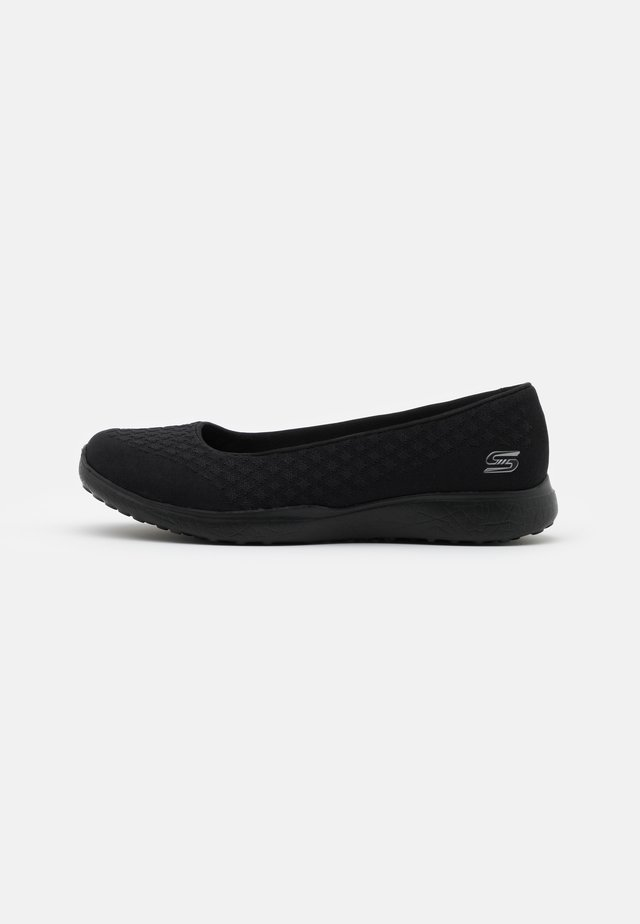 MICROBURST - Ballet pumps - black/charcoal