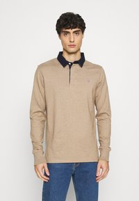 GANT - THE ORIGINAL HEAVY RUGGER - Polo shirt - sand melange - 0