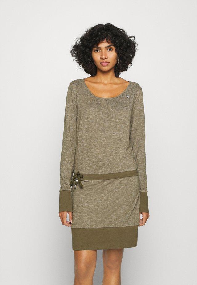 ALEXA - Day dress - olive