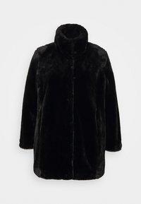 Evans - COAT - Classic coat - black - 0