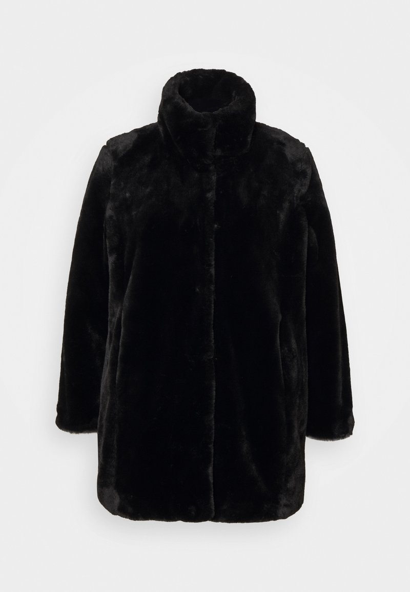 Evans - COAT - Classic coat - black