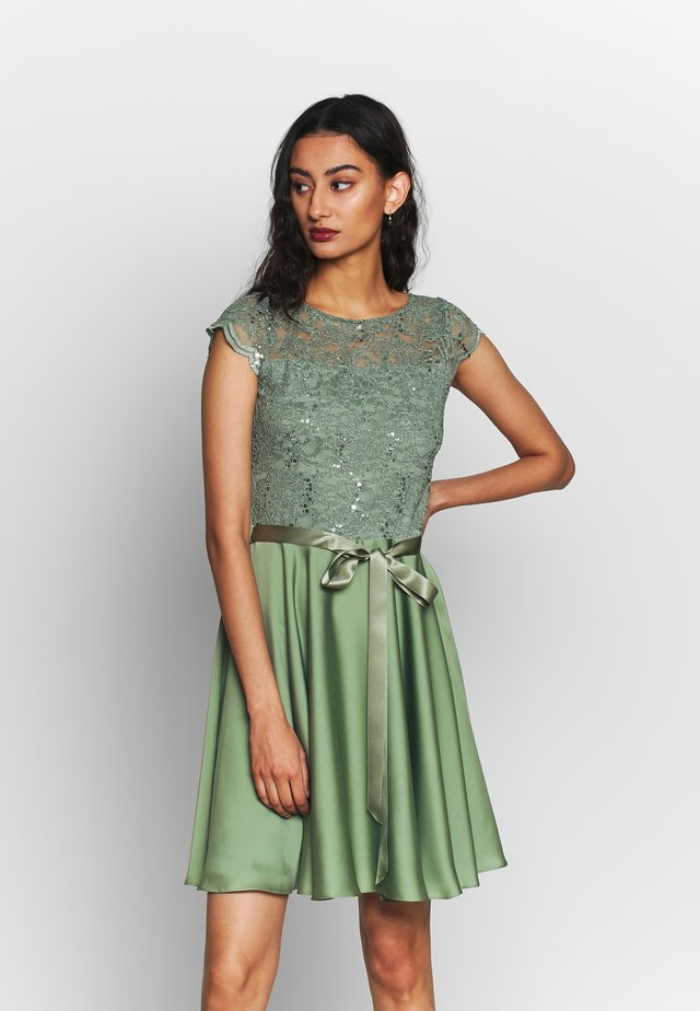 Cocktail dress / Party dress - khaki
