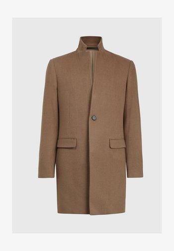 MANOR  - Classic coat - mottled brown