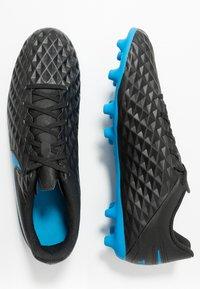 Nike Performance - TIEMPO LEGEND 8 CLUB FG/MG - Moulded stud football boots - black/blue hero - 1
