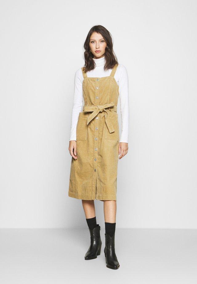 CALLA DRESS - Denimové šaty - iced coffee