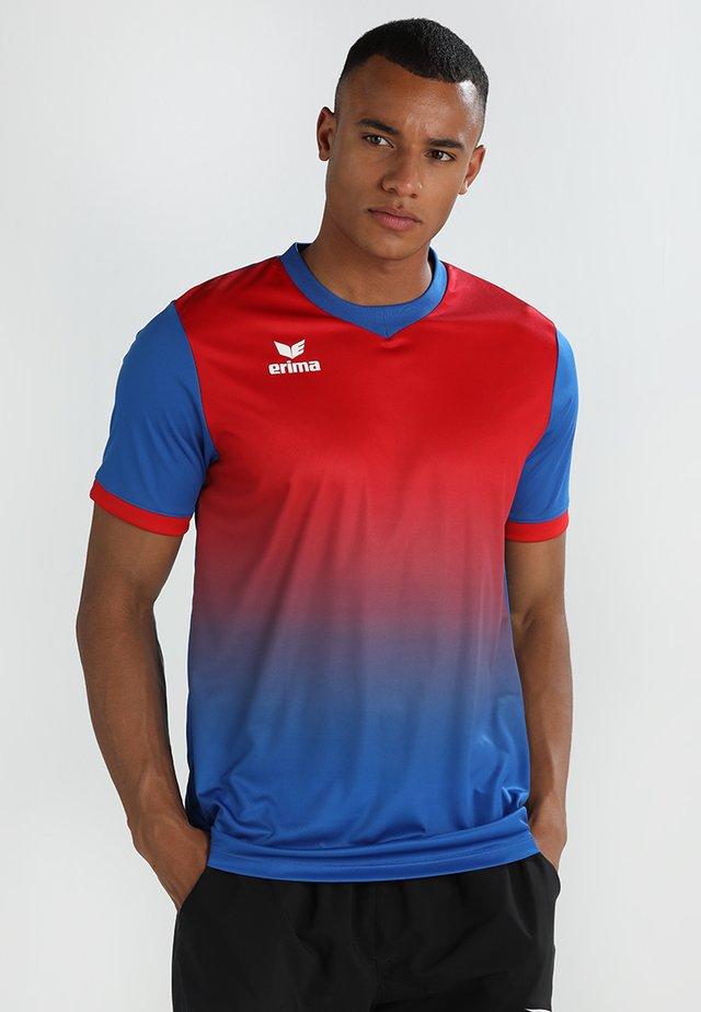 LEEDS SHORTSLEEVE - Sportswear - new royal/red