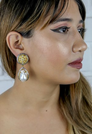 LOMANA - Earrings - gold
