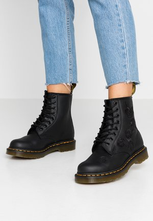 1460 VONDA MONO - Lace-up ankle boots - black