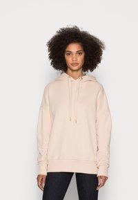 Rich & Royal - ORGANIC FELPA HOODIE - Sweatshirt - beige - 0