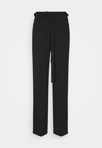 HOVIANA - Trousers - black
