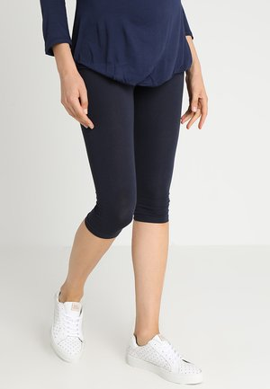 CROPPED - Leggingsit - navy