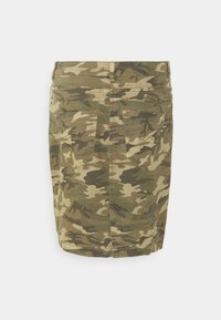 Cream - CRPENORA SKIRT - Pencil skirt - green camou - 5