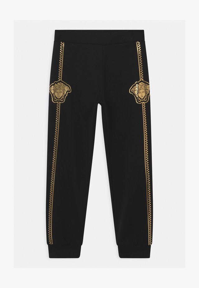 BOTTOM FELPA UNISEX - Tracksuit bottoms - nero