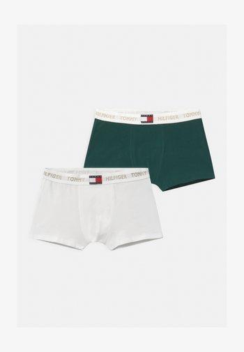 TRUNK 2 PACK - Boxerky - dark green/white
