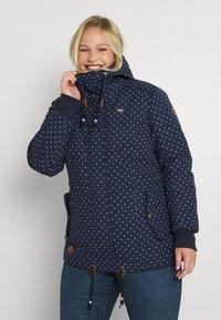 Ragwear Plus - DANKA - Cappotto invernale - navy - 0