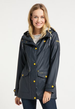 Waterproof jacket - dunkelmarine