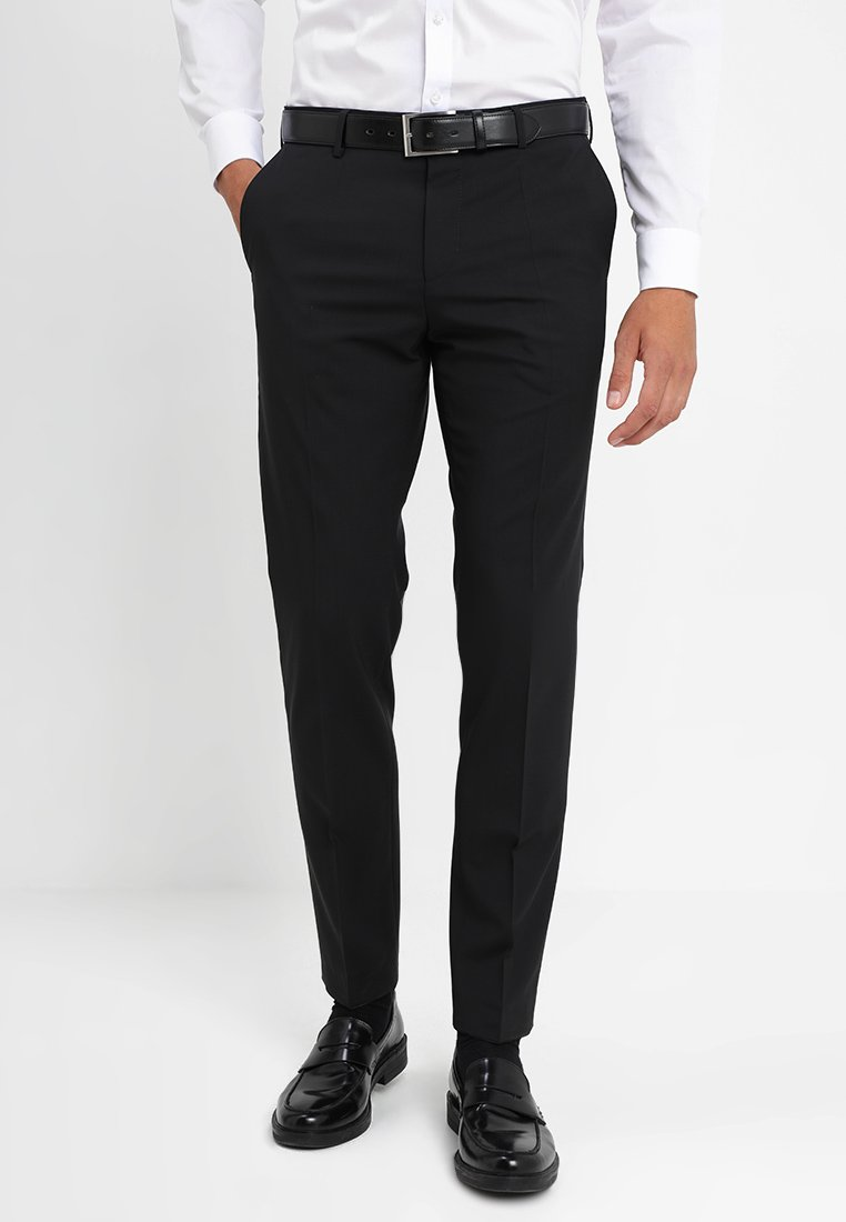 Tommy Hilfiger Tailored - Spodnie garniturowe - black