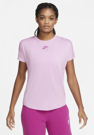 AIR SS - Basic T-shirt - beyond pink/cactus flower
