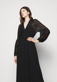 Dondup - GEORGETTE DRESS - Maxi dress - black - 3