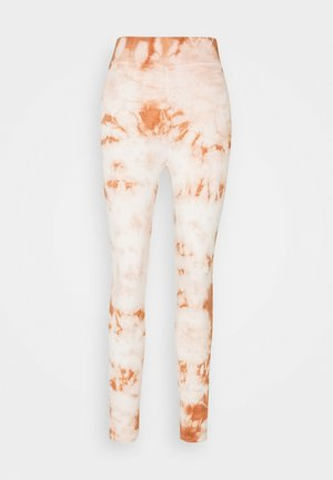 TIE DYE  - Leggings - Trousers - brown
