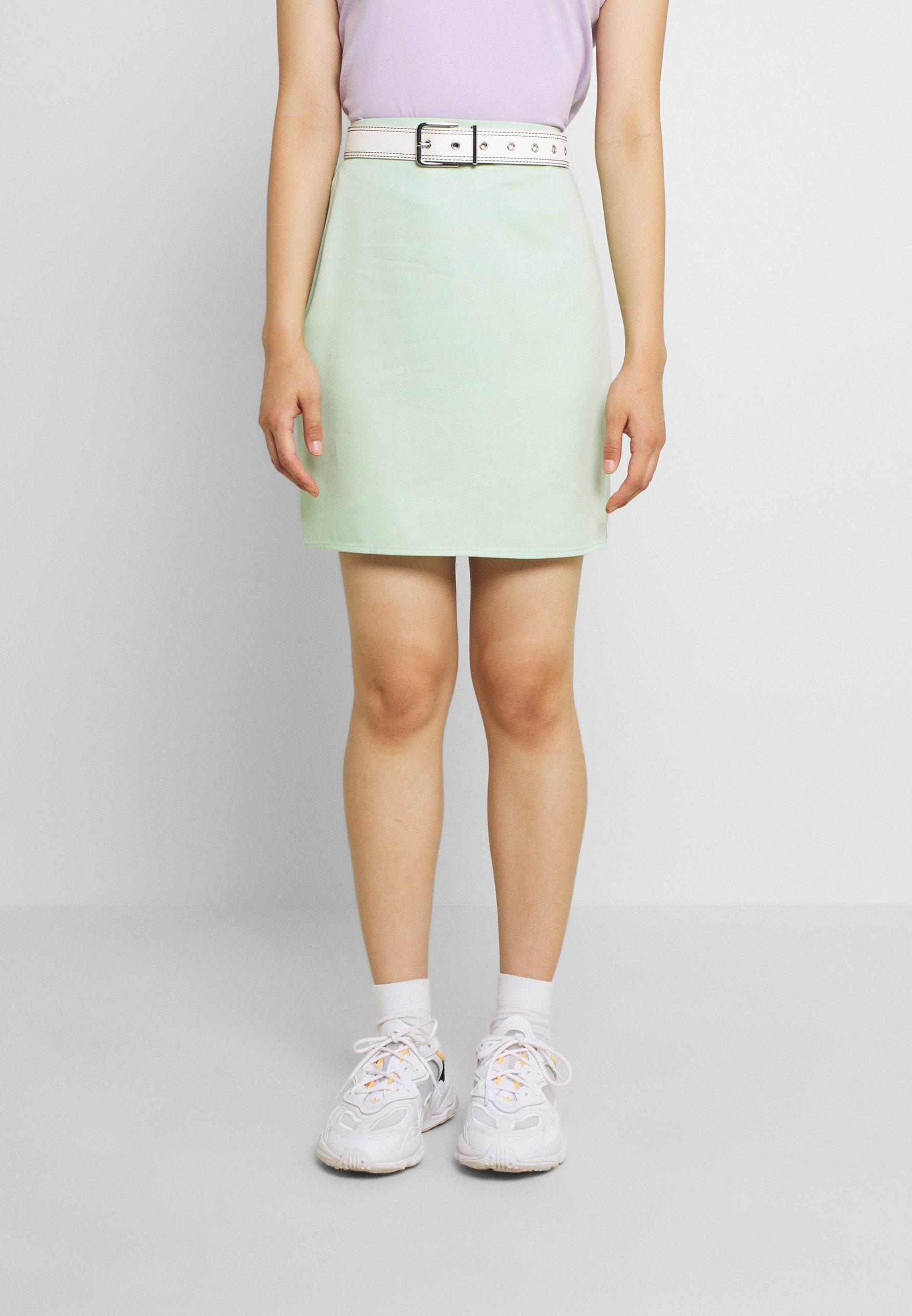 Femme HIGH WAIST SKIRT - Minijupe