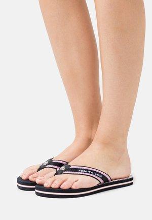 Sandály s odděleným palcem - navy/rose/flieder