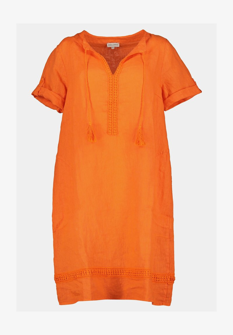 GINA LAURA - Day dress - orange