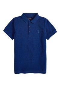 Next - BERRY TEXTURED POLO (3-16YRS) - Polo shirt - blue - 0
